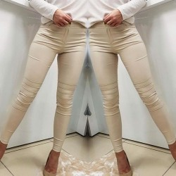 Spodnie BIKER beż