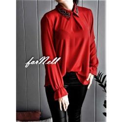 Koszula COLLAR czerwona