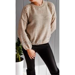 Sweter By Perla beige