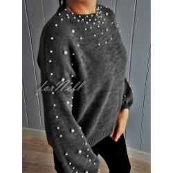 Sweter By Perla grey