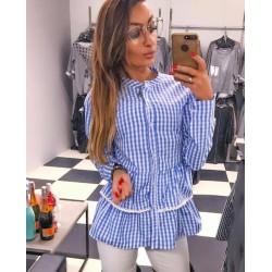 Koszula SHILA niebieska kratka