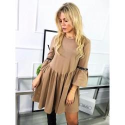 Sukienka SOFIA - camel