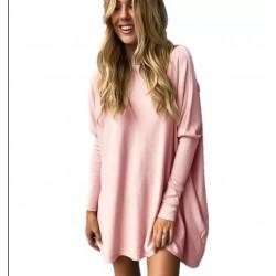 Bluzka/sweter różowy długi...