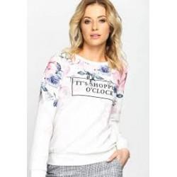Bluzka Shopping biała