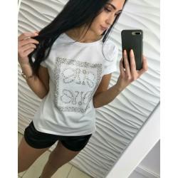 T-Shirt CEEKINY 3104 BIAŁY UNI