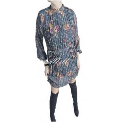 Sukienka PLISA wiązana w...