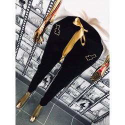 Spodnie dresowe MISSIU czarne