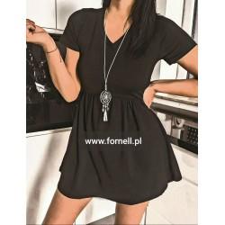 Sukienka LU LI z naszyjnikiem
