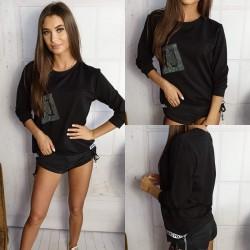 Bluzka LV czarna