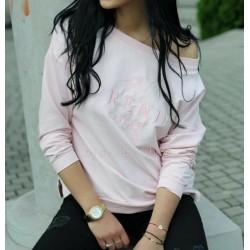 Bluza / bluzka TREND różowa